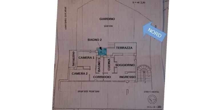 planimetria Via Cicerone 10 Formia
