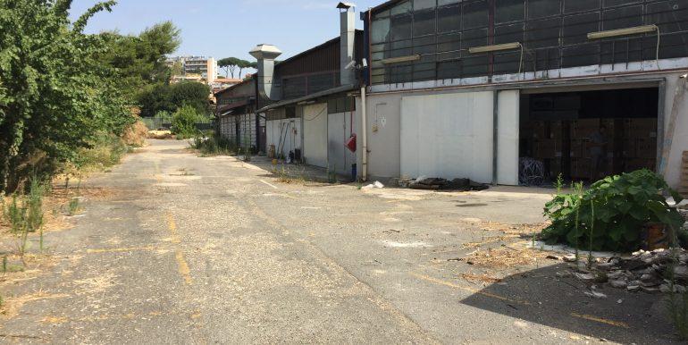 affitto capannone idrovore della magliana 700 mq 2 - Copia